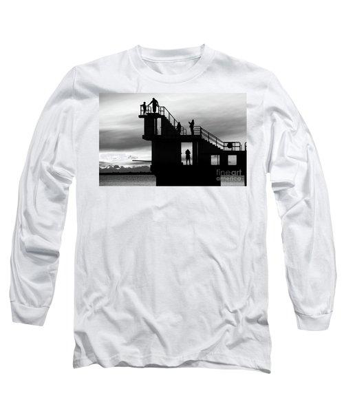 Mono Sunset Blackrock  Long Sleeve T-Shirt