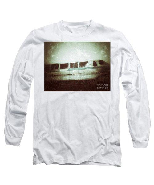 Monorail Long Sleeve T-Shirt by Jason Nicholas