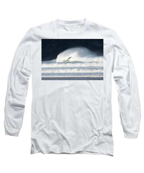 Long Sleeve T-Shirt featuring the photograph Monster Wave by Nicholas Burningham