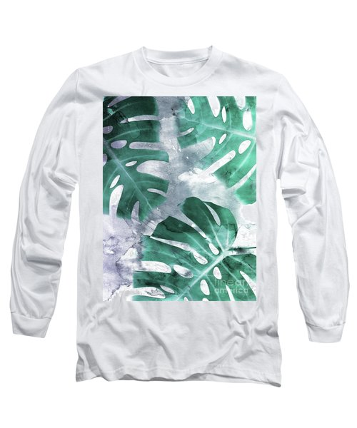 Monstera Theme 1 Long Sleeve T-Shirt