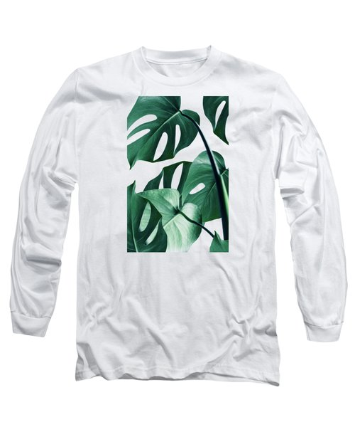 Monstera Long Sleeve T-Shirt