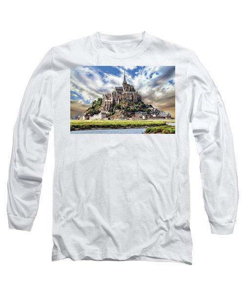 Mont Saint-michel Long Sleeve T-Shirt