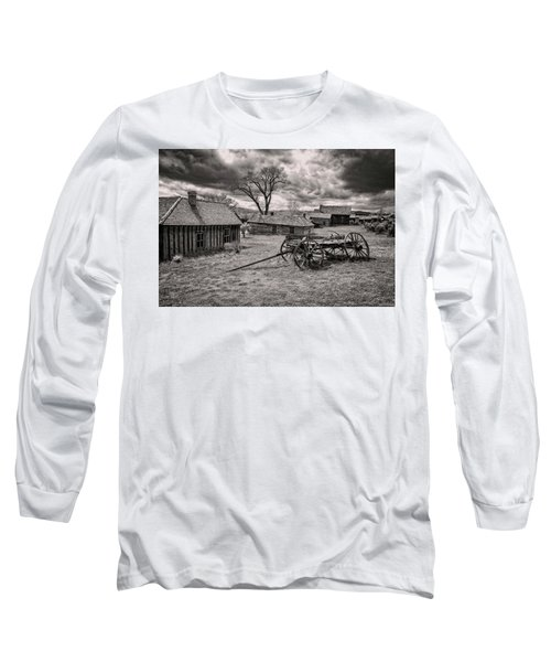 Long Sleeve T-Shirt featuring the photograph Montana Ghost Town by Scott Read