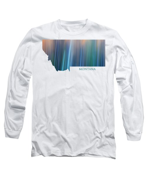 Montana In Pastel Long Sleeve T-Shirt