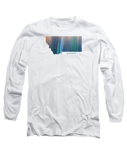 Montana In Pastel Long Sleeve T-Shirt
