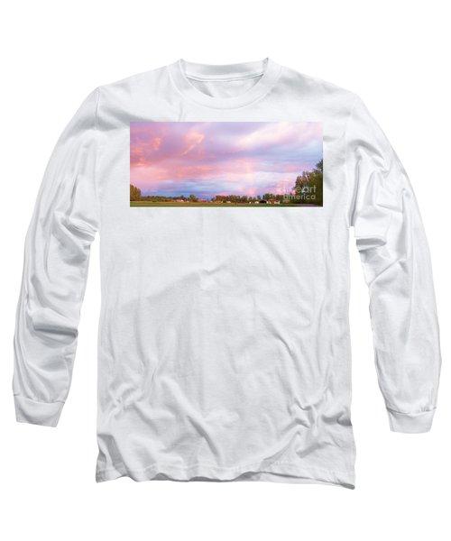 Montana Sunset 1 Long Sleeve T-Shirt