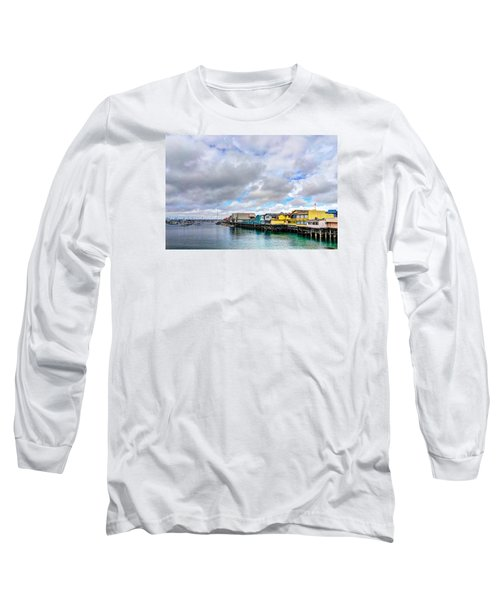 Monterey Wharf  Long Sleeve T-Shirt