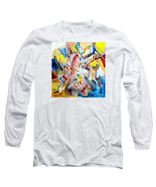 Monument To Aboutness Long Sleeve T-Shirt