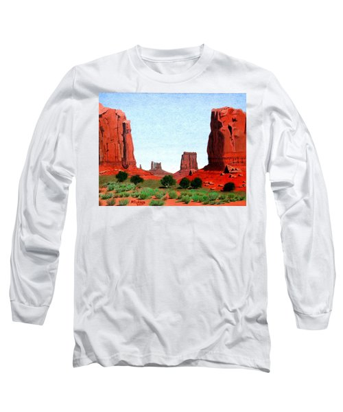 Monument Valley North Window Long Sleeve T-Shirt