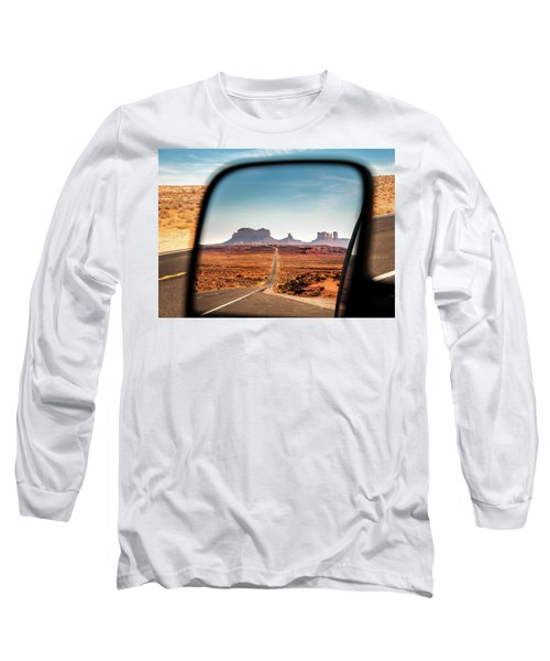Monument Valley Rearview Mirror Long Sleeve T-Shirt
