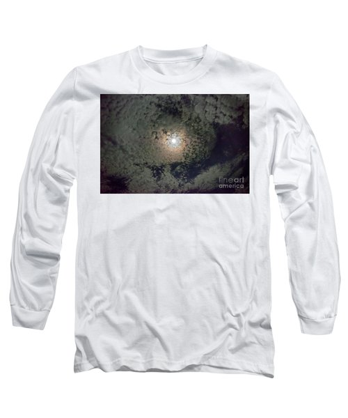 Moon And Clouds Long Sleeve T-Shirt