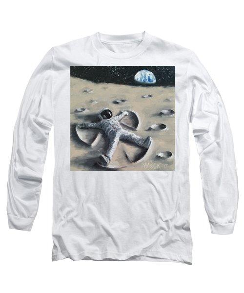 Moon Angel Long Sleeve T-Shirt
