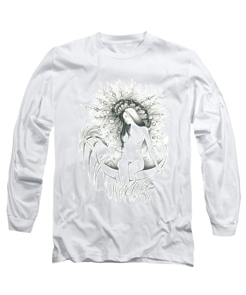 Moon Dew Long Sleeve T-Shirt by Anna Ewa Miarczynska