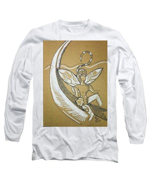 Moon Fairy Long Sleeve T-Shirt