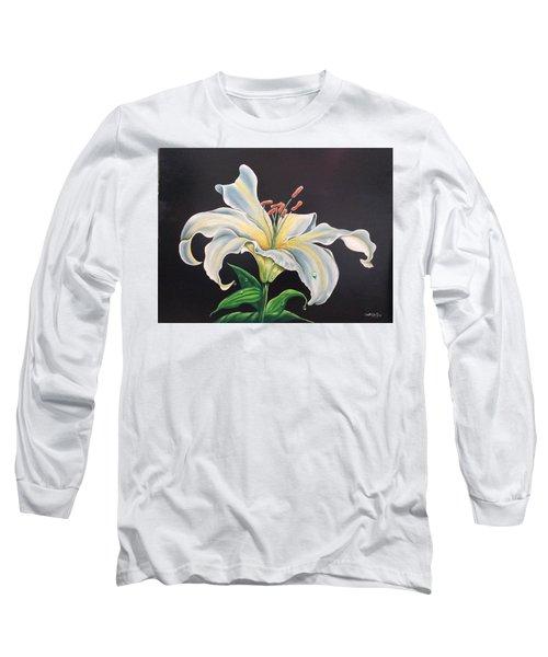 Moon Light Lilly Long Sleeve T-Shirt