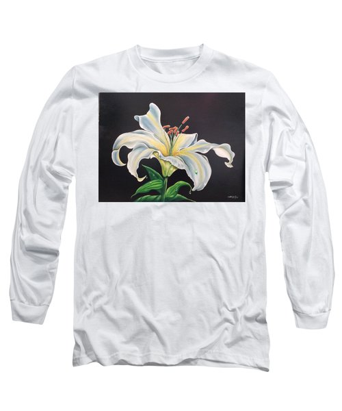 Moon Light Lilly Long Sleeve T-Shirt