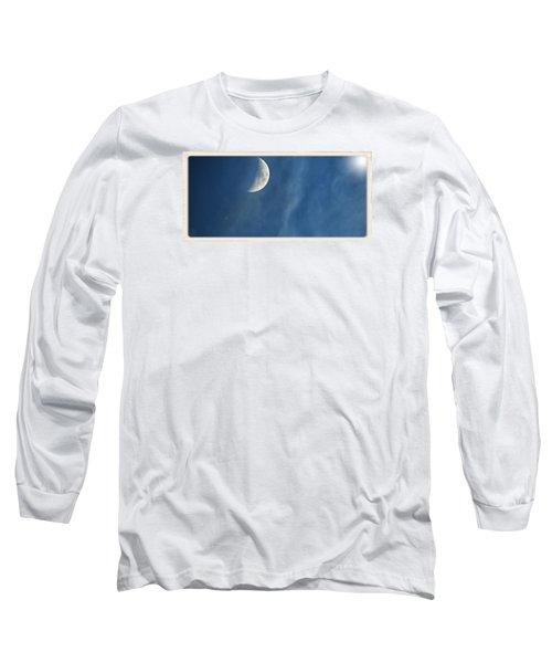 Moon Roof  Long Sleeve T-Shirt by Laura Ragland