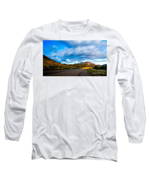 Moonlit Zion Long Sleeve T-Shirt