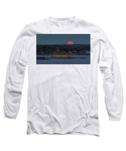 Moonrise Over Ft. Gorges Long Sleeve T-Shirt