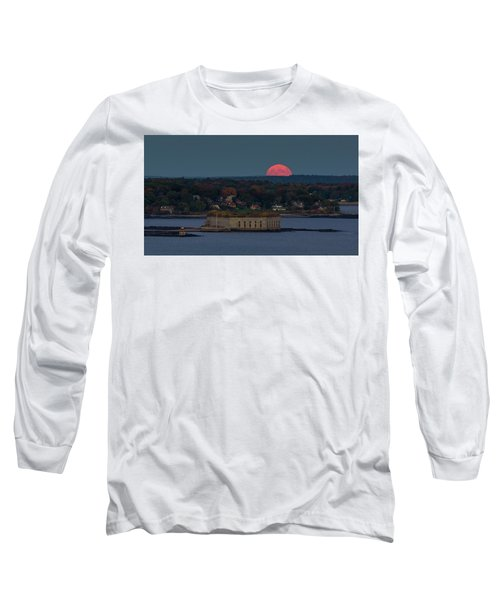 Moonrise Over Ft. Gorges Long Sleeve T-Shirt