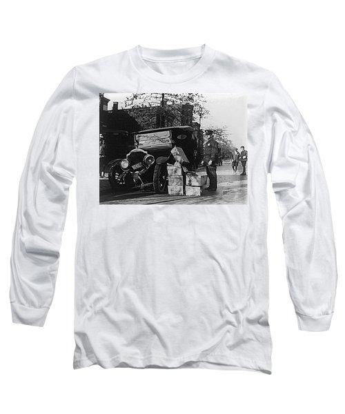 Moonshine Car Chase Long Sleeve T-Shirt