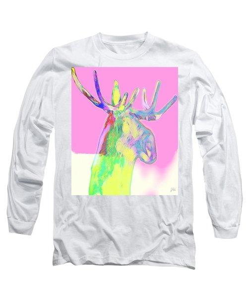 Moosemerized Long Sleeve T-Shirt