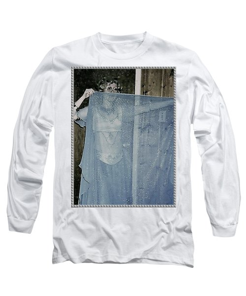 Long Sleeve T-Shirt featuring the photograph More Peek-a-boo by Denise Fulmer