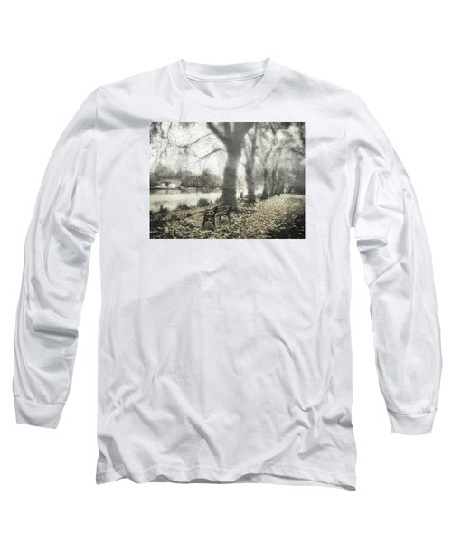 Long Sleeve T-Shirt featuring the digital art More Than A Bit Arty by Leigh Kemp