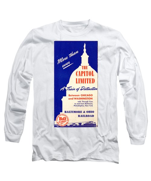 More Than Ever, The Capitol Limited Long Sleeve T-Shirt