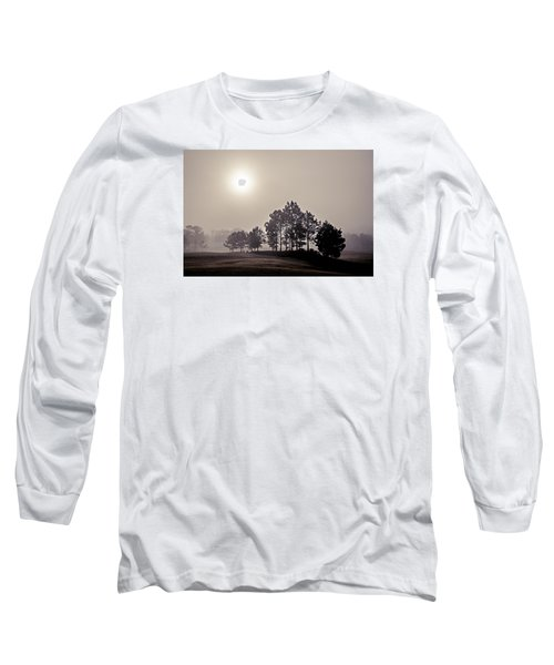Long Sleeve T-Shirt featuring the photograph Morning Calm by Annette Berglund