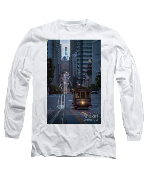 Morning Commute Long Sleeve T-Shirt by JR Photography