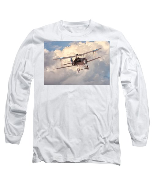 Morning Flight - Se5a Long Sleeve T-Shirt by David Collins
