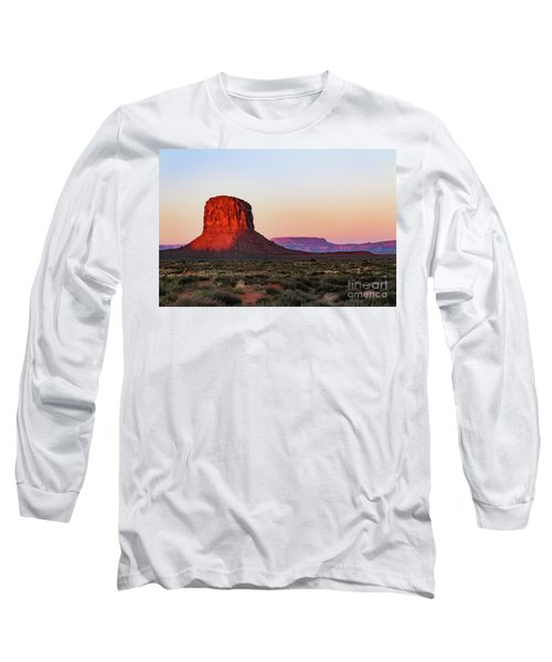 Morning Glory In Monument Valley Long Sleeve T-Shirt