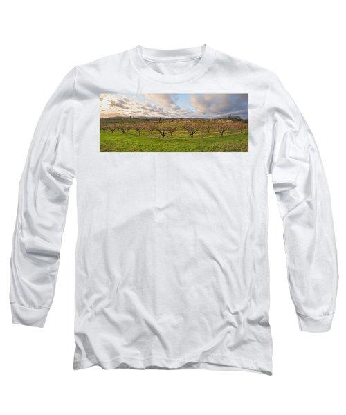 Morning Glory Orchards Long Sleeve T-Shirt