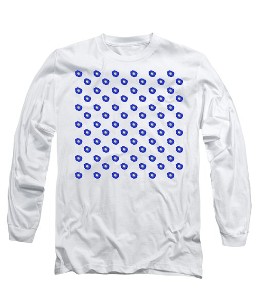 Morning Glory Pattern Long Sleeve T-Shirt