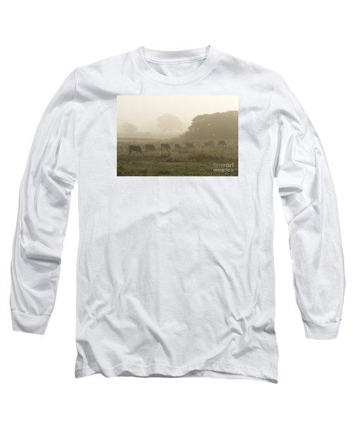 Morning Graze Long Sleeve T-Shirt by Gary Bridger