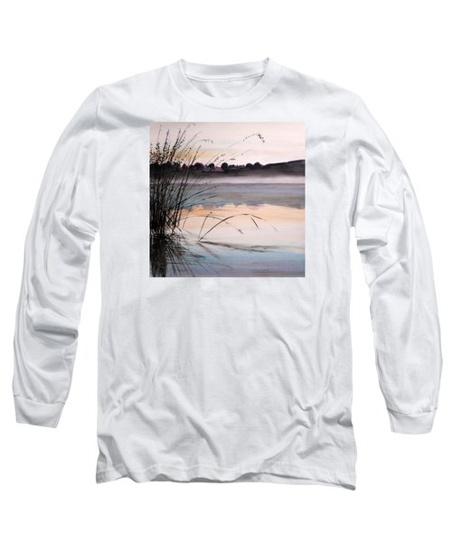 Long Sleeve T-Shirt featuring the painting Morning Light by John Williams