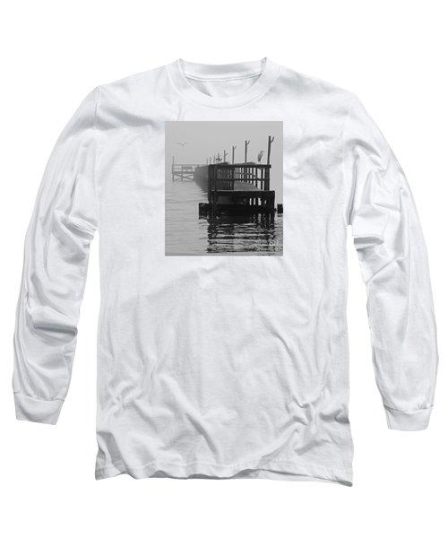 Long Sleeve T-Shirt featuring the photograph Morning Meeting by Joe Jake Pratt