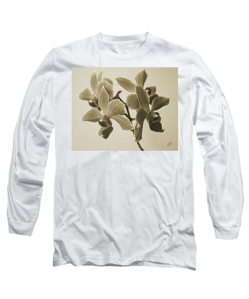 Morning Orchid Long Sleeve T-Shirt