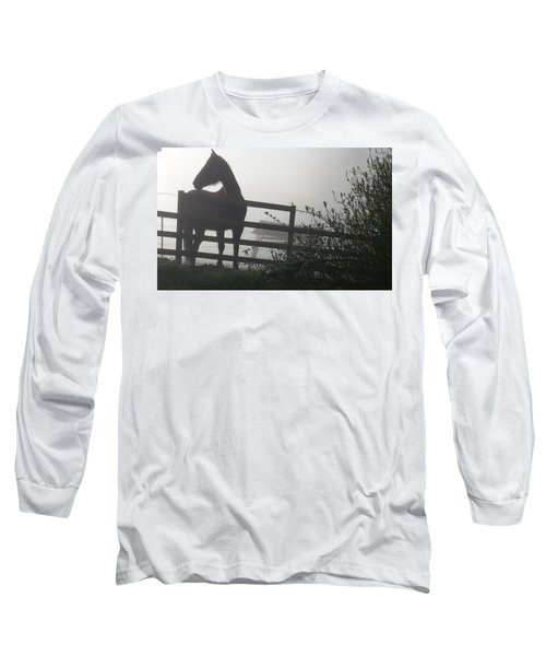 Morning Silhouette #2 Long Sleeve T-Shirt