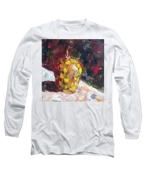 Mosaic Apple Long Sleeve T-Shirt by Roxy Rich