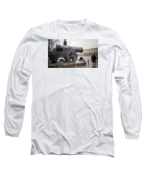 Moscow Cannon Relic Long Sleeve T-Shirt by Ted Pollard