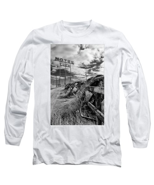 Motel Cafe Northern Texas  Long Sleeve T-Shirt