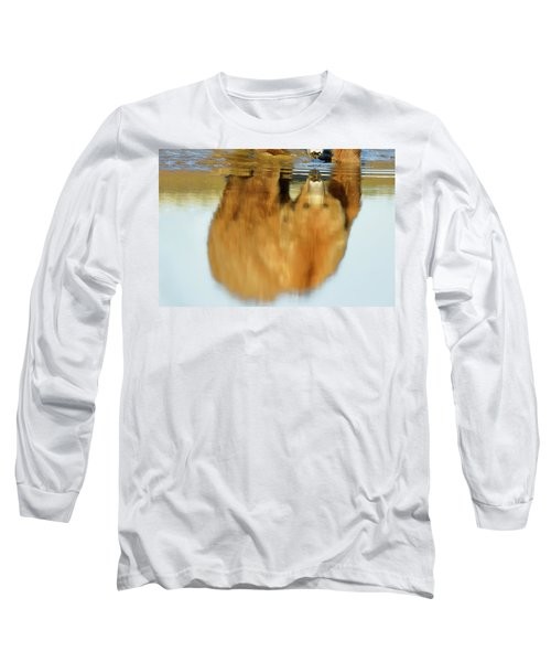 Mother Grizzly Reflection Long Sleeve T-Shirt