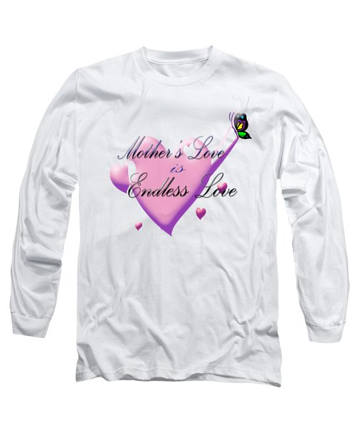 Mother's Love Long Sleeve T-Shirt by Judy Hall-Folde