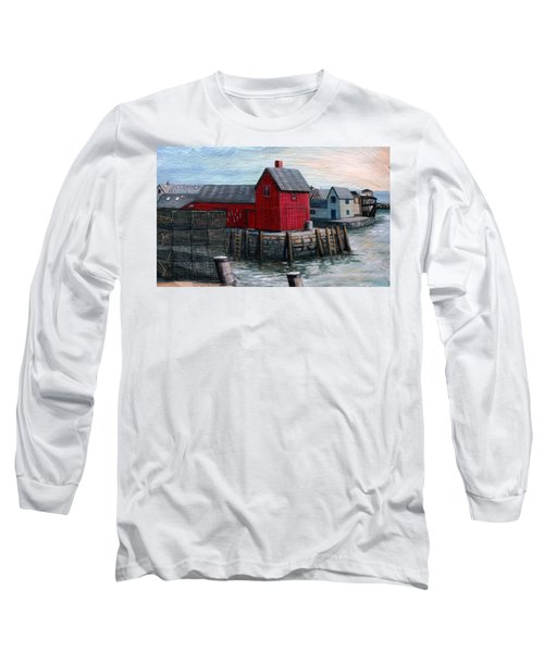 Motif No.1 Long Sleeve T-Shirt by Eileen Patten Oliver