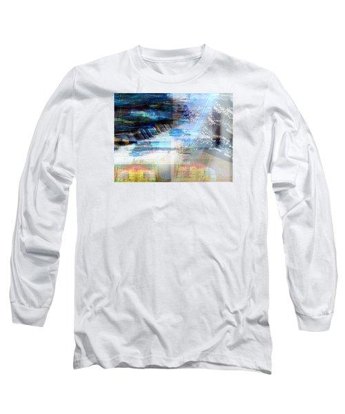 Motivational Piano Long Sleeve T-Shirt