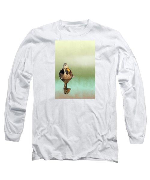 Mottled Duck Reflection Long Sleeve T-Shirt