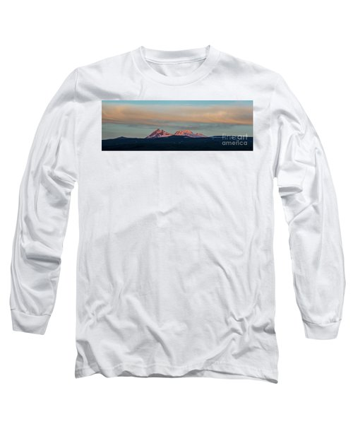 Mount Aragats, The Highest Mountain Of Armenia, At Sunset Under Beautiful Clouds Long Sleeve T-Shirt