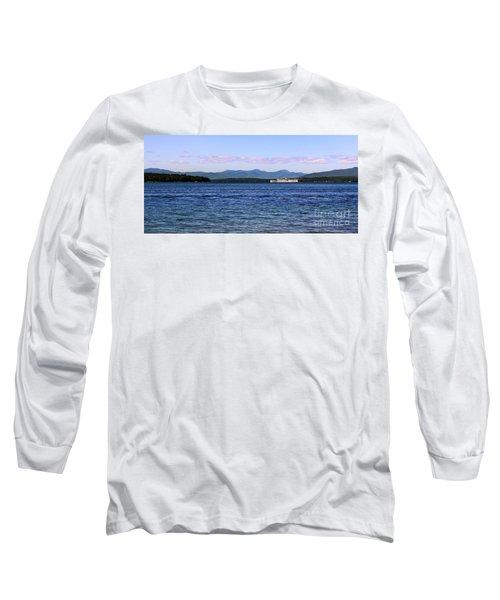 Mount Washington Long Sleeve T-Shirt by Mim White